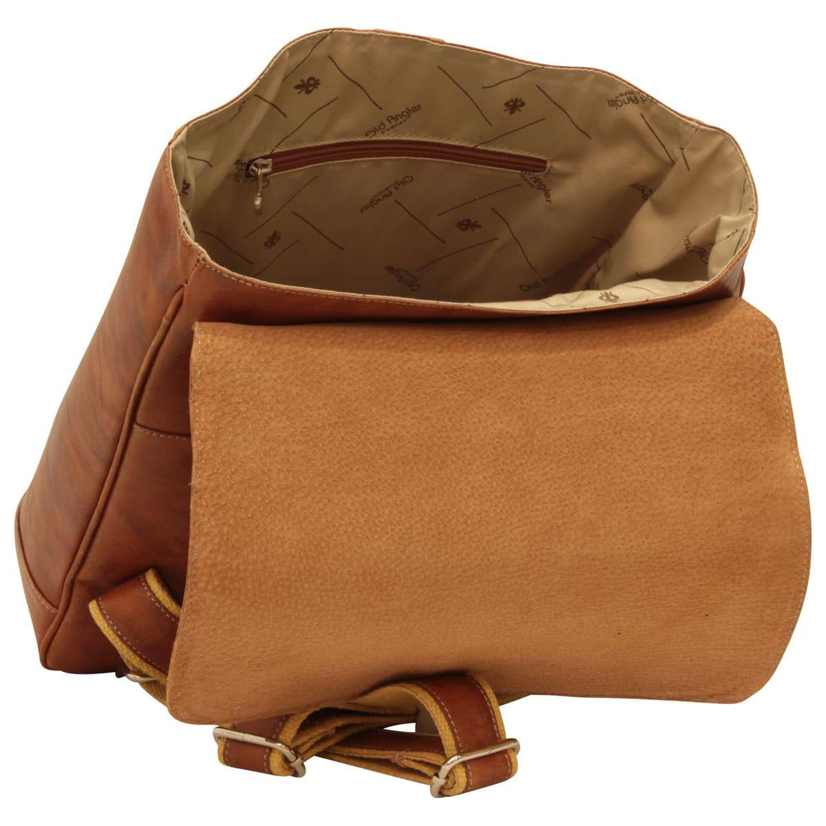 Leather Laptop Case - Brown Colonial | 405161CO E | Old Angler Firenze