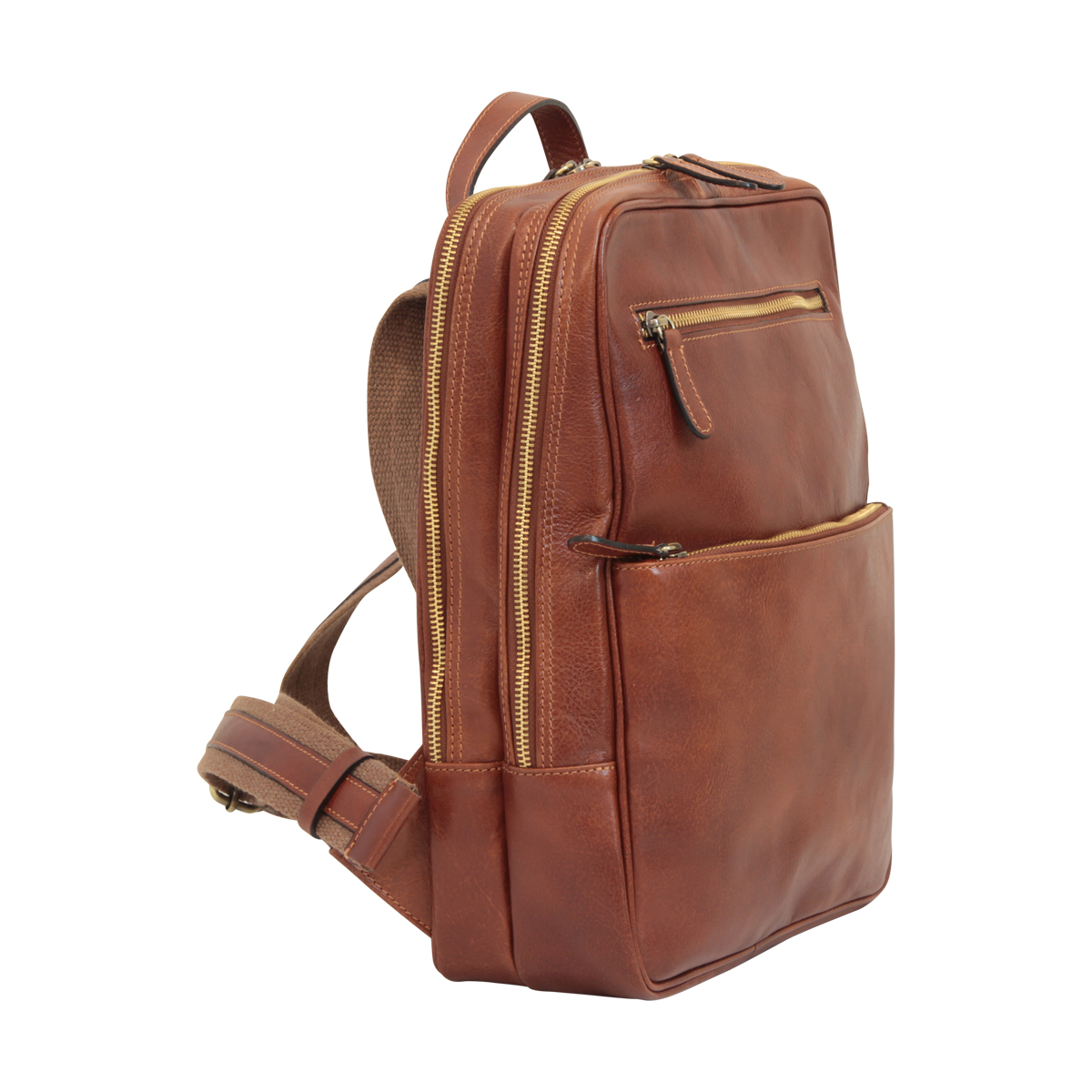 Leather backpack  413589MA | 413589MA US | Old Angler Firenze