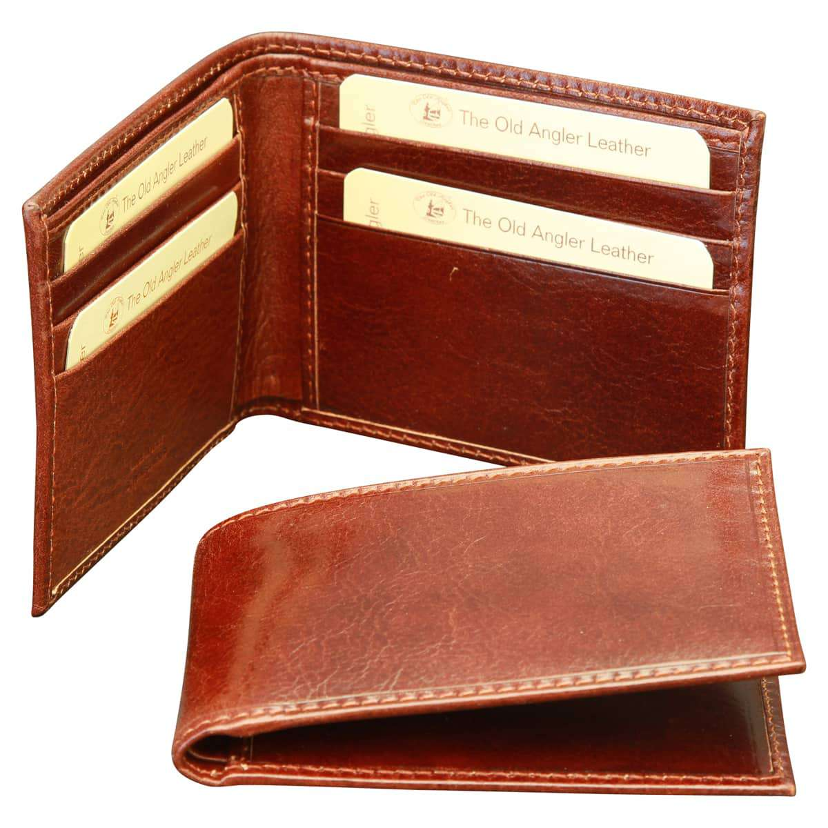 Bifold wallet - Brown | 802605MA UK | Old Angler Firenze