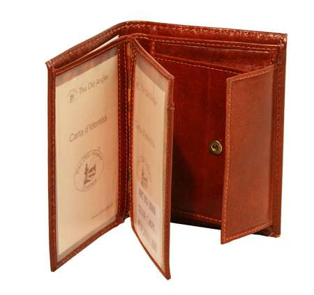 Three part wallet - Brown | 508005MA US | Old Angler Firenze