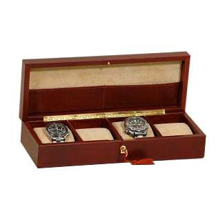 Learher watch case - Brown | 752205MA UK | Old Angler Firenze