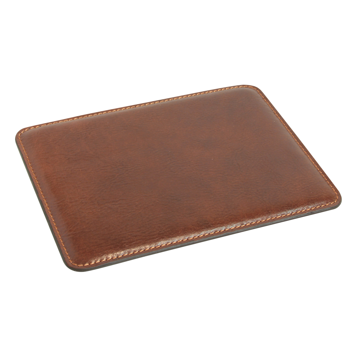 Leather Mouse pad - Brown | 752005MA E | Old Angler Firenze