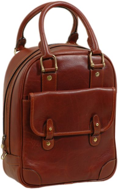 Tuscan Soul Deluxe Leather Shoe Bag- Brown | 303905MA UK | Old Angler Firenze