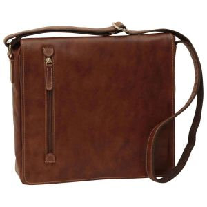 Lightweight Messenger Bag - Chestnut