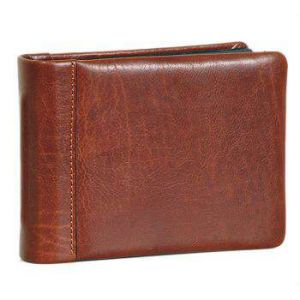 Leather photo album - Brown