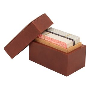 Leather Card Case - Brown