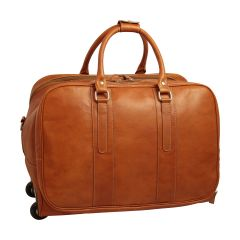 Oiled Calfskin Travel Bag - Colonial