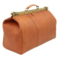 "Leather ""old America"" bag - colonial"