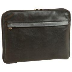 Leather Folder - Black