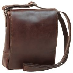 Borsa in pelle per I-Pad. Marrone Scuro