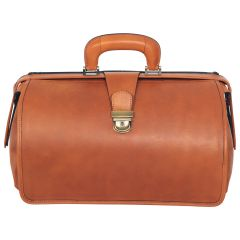 Leather Doctor's Bag - Brown Colonial