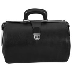Leather Doctor's Bag - Black