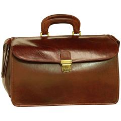 Leather Doctor's Bag - Brown