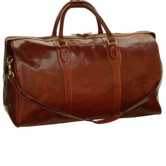Weekend travel bag - Brown