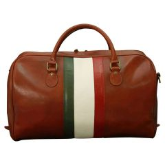 Cowhide Duffel bag - Chestnut