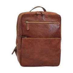 Leather backpack  413589MA