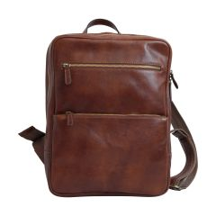 Leather backpack  413689MA