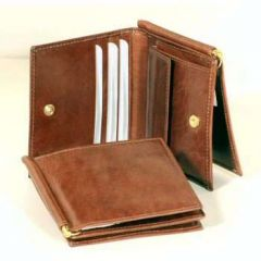 Three part wallet - Brown