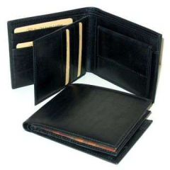 Italian Leather Wallet - Brown