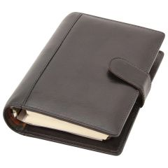 Leather Organizer (Medium) - Black