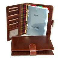 Leather Organizer (Large) - Brown