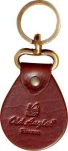 Old Angler Key Chain - Brown