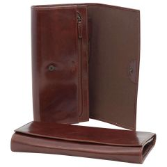 Vachetta Leather Portfolio - Brown