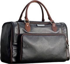 Selective Leather Duffel Bag - N&M