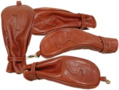 Tuscan Soul leather Golf Headcovers - Brown