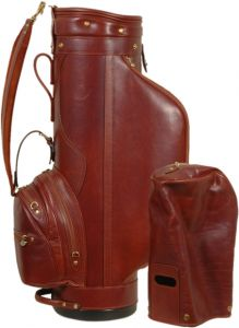 Tuscan Soul Pro Staff Golf Leather Bag - Brown