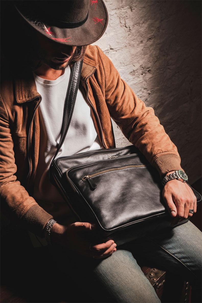 briefcase black